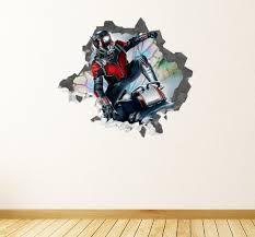 Avengers Endgame Ant Man Marvel Wall Decal Decor Sticker Etsy