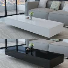 round coffee table living room side