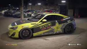 Need For Speed 2015 Ps4 Building Fredric Aasbo Rockstar Energy Drink Hankook Decal On A Frs Youtube
