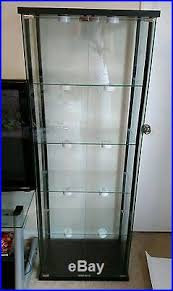 glass curio cabinet display showcase