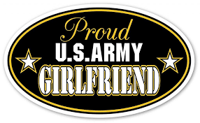 Buy Proud Army Girlfriend Car Decal In Cheap Price On Alibaba Com