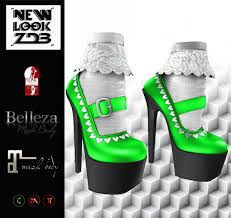 Second Life Marketplace - Promo - NEW - Heels [ZDB] Adeline Green