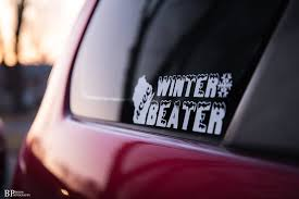 Wcec Winter Beater Decal Wisconsin Car Enthusiast Club