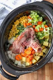 ham bone soup slow cooker spend
