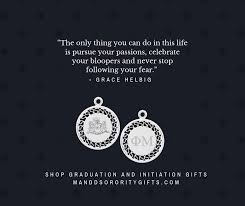 phi mu initiation graduation gifts quotes for cards m d