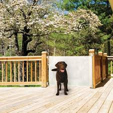 Retractable Pet Gate For Use Indoors Or Out Officialdoghouse