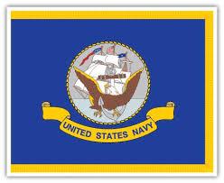 U S Navy Flag Vinyl Die Cut Decal Sticker 4 Sizes