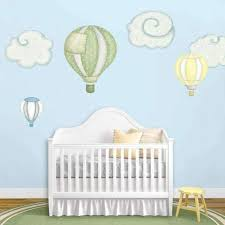 Flying Stork And Cloud Wall Stickers