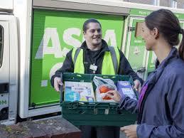 UK supermarket websites including Asda ...