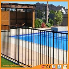 China Swimming Pool Aluminum Flat Top Fence Panels China Safety Fence Fencing