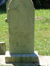 Martha Ada Kennedy Carrier (1881-1961) - Find A Grave Memorial