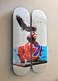 skateptych ghost hanger skateboard wall