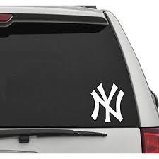 Seek Racing Ny Yankees Decal Car Truck Window Sticker Sports Baseball Ny Fan Gear Amazon In Car Motorbike