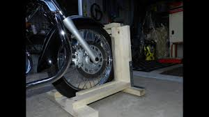 diy steady stand motorcycle you