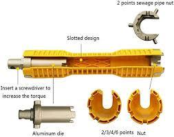 multi purpose wrench plumbing tool