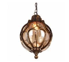 waterproof outdoor glass chandeliers