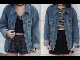 2 grunge aesthetic outfits you