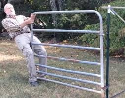 Amazon Com Hinge Pins Easy Cost Effective Alternative To Hang A Gate From Metal T Posts Home Improvement