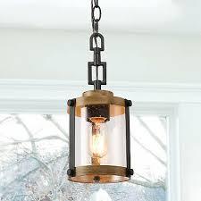 farmhouse rustic pendant light 1 light