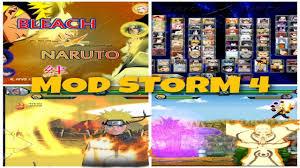 NEW UPDATE! Bleach VS Naruto MUGEN MOD STORM 4 100 CHARACTERS ...