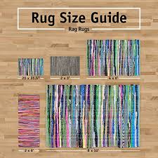 dii variegated recycled yarn 2x3 ft rug