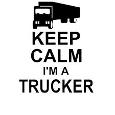 Keep Calm Trucker Car Decal Aspire Gear