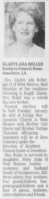 Gladys Ada Murphy Roller obituary - Newspapers.com