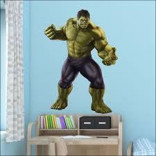 Extra Large Avengers The Hulk Wall Sticker Art High Quality 3d Decal Transfer Home Garden Wall Decals Stickers