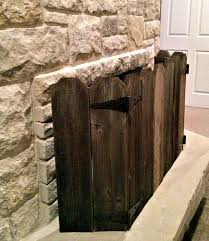 I Ll Paint Mine White I Ll Finally Get My White Picket Fence Fireplace Screens Farmhouse Fireplace Screens Diy Fireplace