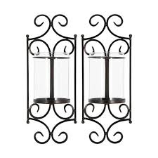 windsor rustic candle wall sconce