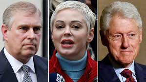 Rose McGowan calls for arrests of Prince Andrew, Bill Clinton ...