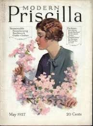 MODERN PRISCILLA (MAY 1927) Magazine of Needlework, Homecraft &  Housekeeping by Multiple Contributors - 1927
