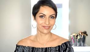 lina waled hair makeup color