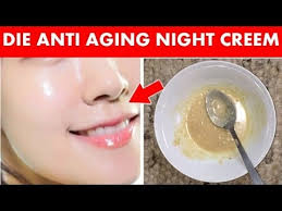 homemade cream for anti aging diy