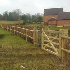 2 Domestic Fencing Hedge Relocation Installation Of Post And Rail Fencing And Estate Gates At Country Park In Northop Thorman Tree And Landscaping Tree Surgery And Landscaping In Anglesey Bangor And Gwynedd