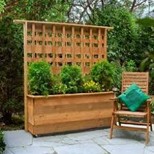 How To Build A Privacy Planter Privacy Planter Backyard Outdoor Privacy