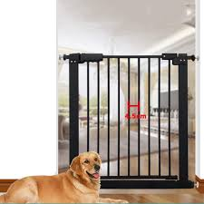 Baby Gates Pet Dog Gate Safety Fence Easy Install Easy Walk For Stairs Doorways And Hallways Suitable For 61 232cm Gaps Color Black Size 61 70 9cm Amazon Co Uk Kitchen Home