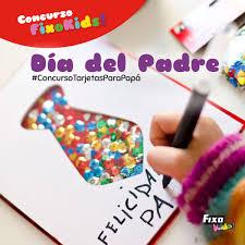 Concurso Infantil Tarjetas Para Papa Fixo Kids