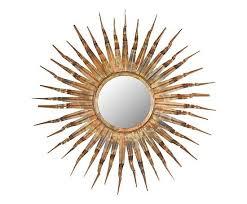 spiegel soleil koper Ø 93 cm met