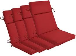 indoor outdoor high back chair cushions