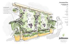 living green wall vertical garden