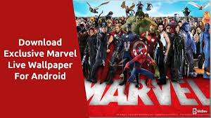 marvel intro live wallpaper for android