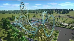 planet coaster hangtime pov day