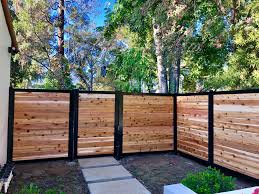 6 Horizontal Infill Landscape Design Small Fence Design Small Garden Design