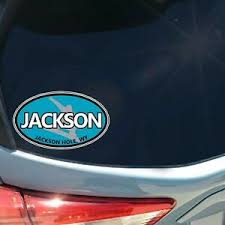 Jackson Hole Wy Oval Sticker Decal Car Truck Snowboard Corbet S Couloir Tetons Ebay
