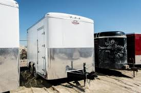 enclosed cargo trailers new used