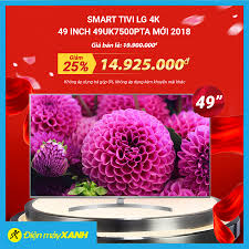 📺Smart Tivi LG 4K 49 inch 49UK7500PTA... - Điện máy XANH ...