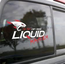 Liquid Mayhem Window Decal Liquid Mayhem