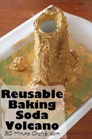 reusable baking soda volcano summer