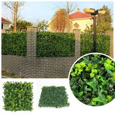 China Fake Boxwood Hedge Artificial Grass Fence China Garden Fence And Artificial Plant Price